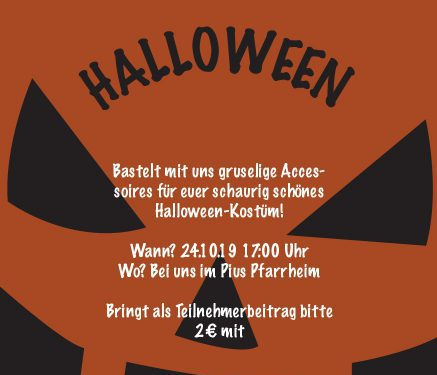 24.10. HALLOWEEN-AKTION